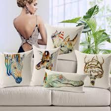 Giraffe Home Decor by Online Get Cheap Giraffe Pillows Aliexpress Com Alibaba Group