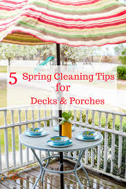 5 spring cleaning tips for decks and porches an alli event