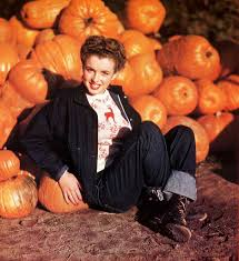 shooting film young marilyn monroe hanging out in the pumpkin