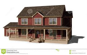 two story house red royalty free stock images image 27969659
