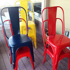 Red Metal Chair New World Market Metal Dining Chairs Averie Lane New World