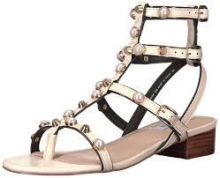 steve madden women u0027s crowne gladiator sandal white shoes sandals