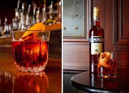 campari bottle six variations on a negroni cool hunting