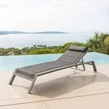 chaise longue hesperide chaise longue et transat de jardin hespéride
