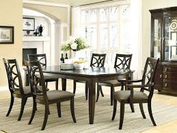 dining room table sets seats 6 glass black chairs and cheap