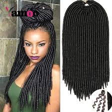 Braid Hair Extensions by 7 Piece 18inch 120g Burgundy Crochet Braids Hair Extensions Curly