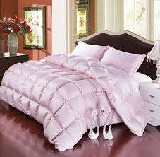 Light Pink Comforter Queen Awesome Twin Queen Full King Size Pink Color 50 Goose Down