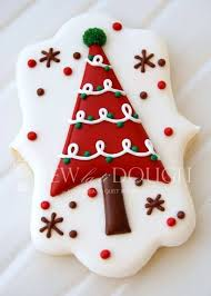 Elegant Christmas Cookie Decorations by 25 Best Christmas Tree Cookies Ideas On Pinterest Christmas