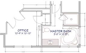 floor layout masculine modern farmhouse bathroom floor plan jillian lare