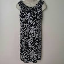 60 off dress barn dresses u0026 skirts black and white flowers