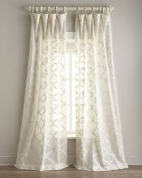 ideas for sheer linen curtains
