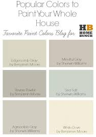 Popular Colors For 2017 Best 25 Popular Paint Colors Ideas On Pinterest Better Homes