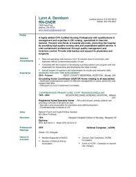 Comprehensive Resume Sample For Nurses by Nursing Resume Templates Easyjob Easyjob