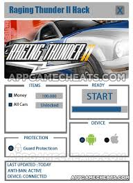 raging thunder 2 apk version free raging thunder 2 cheats hack for money all cars 2016 comprehensive