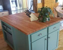 kitchen island butcher butcher block island etsy