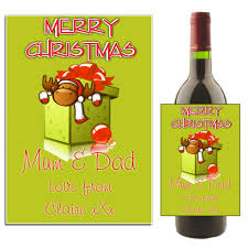 christmas wine clipart 33