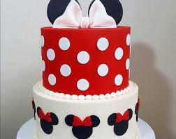 minnie mouse cake minnie mouse cake topper