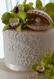 White Flower Cake Shoppe - fondant white flower cake shoppe