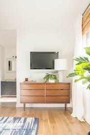 Mid Century Modern Baseboard Trim House Tour Bigger Than The Three Of Us