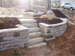 How To Regrade A Backyard Best 25 Backyard Retaining Walls Ideas On Pinterest Retaining