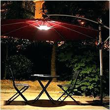 solar powered umbrella lights led patio umbrella new rectangular solar powered lighted cvid