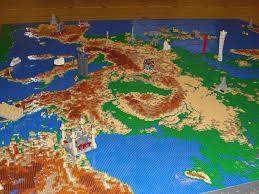 Seattle Elevation Map by Lego Map Of Europe Including Landmarks Made With 53 000 Bricks