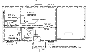 chic ideas simple ranch house plans with basement lovely 5 3