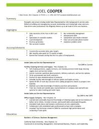 Resume Template For Restaurant Manager Resume Examples Outside Sales Resume Examples Outside Sales