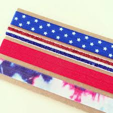 tie dye headbands sale fourth of july headband set from lovemiakids on etsy