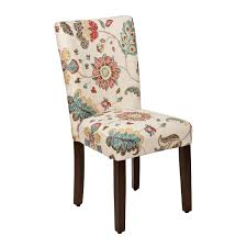 spring poppy parsons chair parsons chairs bright decor and