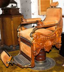 Antique Barber Chairs For Sale Antique C 1900 E Berninghaus U201cthe Time Machine U201d Barber Chair