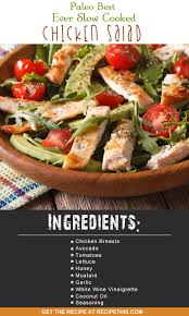 Best Salad Recipes Paleo Best Ever Slow Cooked Chicken Salad Recipe This