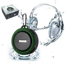 amazon com shower speaker elivebuy waterproof bluetooth speaker