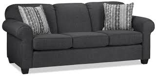 suits you the aristotle sofa in graphite is distinguished by its