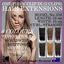 synthetic hair extensions one with 5 clip in synthetic hair extension model