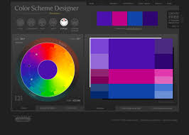 colors acrylic color schemes palette generator colours chart