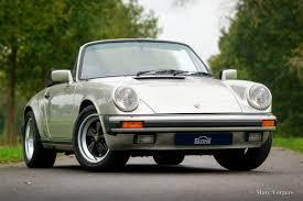 classic convertible porsche porsche 911 carrera 3 2 cabriolet 1984 classicargarage fr