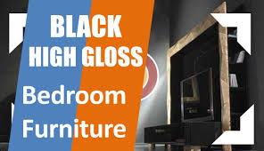 High Gloss Bedroom Furniture by Black High Gloss Bedroom Furniture Youtube