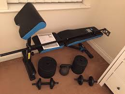 Argos Weights Bench Men U0027s Health Ultimate Workout Bench Brand New From Argos Only Two