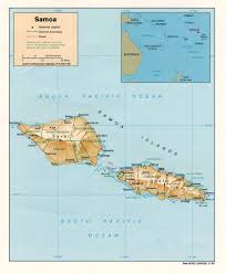Ana Route Map Samoa Maps Perry Castañeda Map Collection Ut Library Online