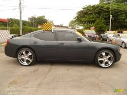 2007 dodge charger standard charger model custom wheels photo