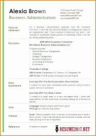 7 business administration resumes besttemplates besttemplates