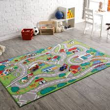 Kids Play Rugs With Roads by L A Rugs Countryfun Kids Area Rug Hayneedle