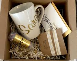 personalized bridesmaid gifts bridesmaid gift box etsy