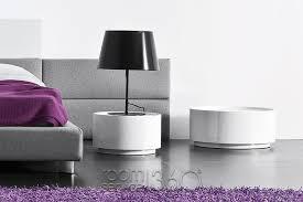 dedalo round italian nightstand by pianca