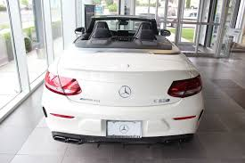mercedes amg c class 2017 mercedes amg c 63 s cabriolet at mercedes of
