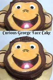 curious george face cake cake decorating tutorials veena azmanov