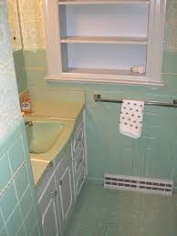 Seafoam Green Bathroom Ideas Vintage Retro Seafoam Green Marble Plastic Bathroom Wall Tile