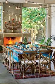 Southern Living Dining Rooms by Jenna Bush Hager Hosts A Texas Fiesta Southern Living
