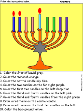 hanukkah candles colors hanukkah crafts and activities for kids enchanted learning software
